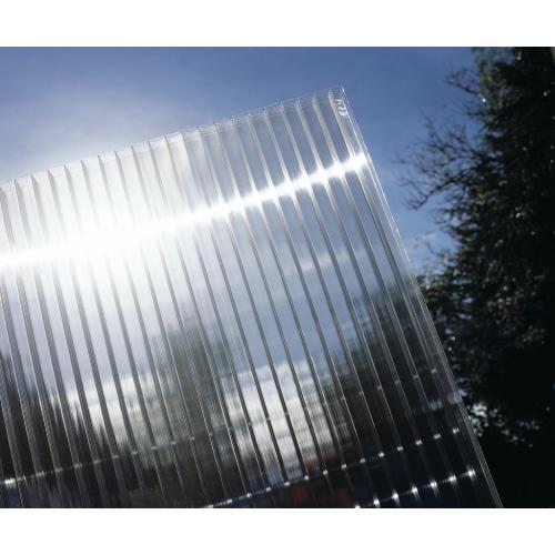 Сотовый поликарбонат прозрачный (тепличный)